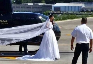 Total Horror! Wedding Bride Who Wanted to Surprise Hubby by Arriving via Helicopter Dies in Crash with 3 Others (Photos)